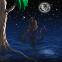 Request- Night walk by Narncolie