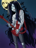 Marceline n stuff by Ayichii