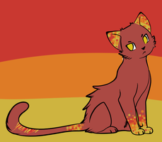 Sunset Cat Adopt by FrostDragon-Adopts