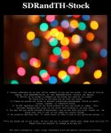 Christmas Bokeh 01 Pack by SDRandTH-Stock