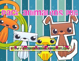 Pack Animalitos_Png by UnicorniaAwesome