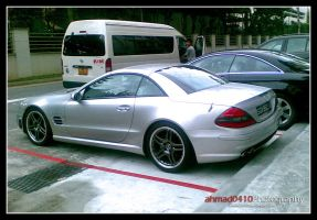 Mercedes SL55 by ahmad0410