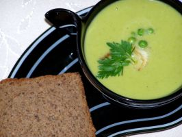 fennel and peas soup 2 by himitsuHAKAI