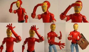 Skottie Young Iron Man Faces by Baker009