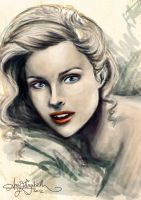 Grace Kelly by airyfairyamy