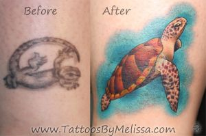Sea Turtle Cover-Up by Melissa-Capo