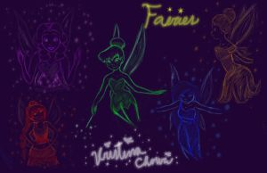TinkerBell and her friends by Chourios