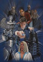 The Tenth Doctor by RAYMAC69