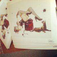 DC LIMITED EDITION PRINTS by lora-zombie