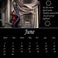 Drow Calendar 09 - Jun by Umrae-Thara