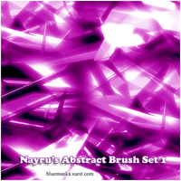 Nayru's Abstract Brush Set 1 by Nayru1986