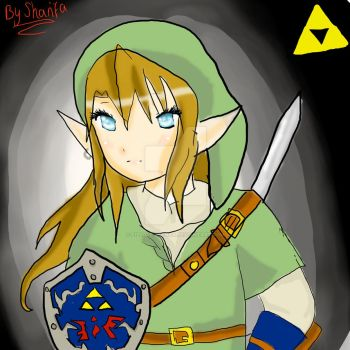 Female Link Fanart by FizLovesManga