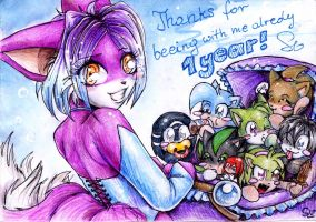 Thanks for 1 year by Shirow-sama