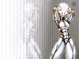 Gynoid walpaper-For PC by LiquidMark