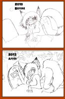 RIP before after by AlphaAnime