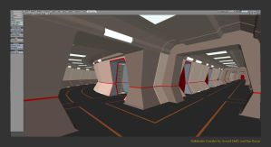 Pathfinder corridor intersection by gmd3d