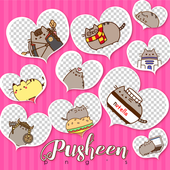Pusheen Png's by iTutosCreativeRawr