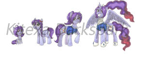 Texi-Pie: through the years (and then some) by KHwhitelion