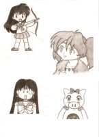 Some other drawings... by beginthebegin