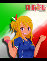 Lucy Heartfilia for Italy! by FiorFior