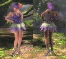 My favorite DOA outfits (Ayane Halloween) by DoAfanboi