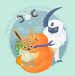 PMD: blue rescue team by Chigle