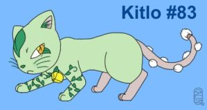 Fakemon Kitlo by MuseWhimsy