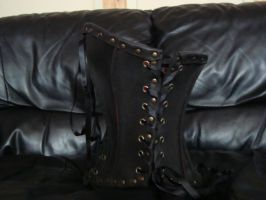 Leather corset 5 by draks
