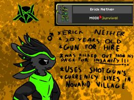 Erick Nether(Avali) by m1n1cat
