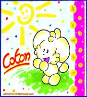 Coton the puppy by NekoAmine