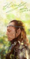The Hobbit   Lord Elrond by magnet-hana13