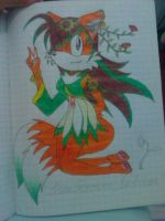 Tails' daughter 'Lisen Prower Seedrian' by 090fp