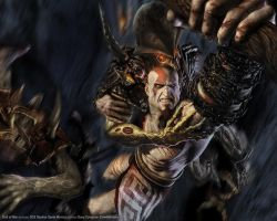 god of war wallpaper by mephistotheles999
