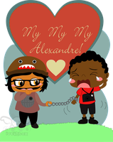 Me and Alexandre by iveinbox