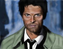 Castiel  - Supernatural by Saryetta86
