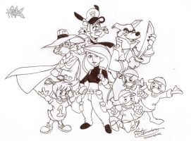 Throwback Disney by ElectricDawgy