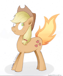 Liar Liar Flank on Fire by SageEarth