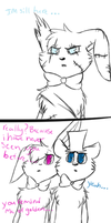 meeting patches (golden bonnie) comic by breezybunnyart