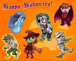HAPPY HALLOWEEN by Luthie13