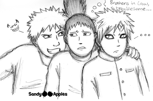 Brothers in Law... by Sandy--Apples