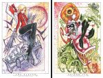 Buffy and Poison Ivy Prints by RobDuenas