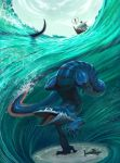 Sea Monster by Farkwhad