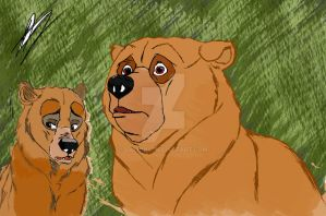 Kenai -Brother Bear  2002 by Valion4