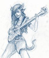 Guitarist by Kythrea