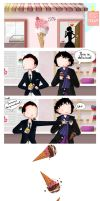 Holmes and Moriarty: Ice Cream by ice-cream-skies