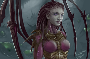 StarCraft 2: Kerrigan by kiiroikimono