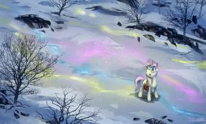 [request] The Snowy Ol' Road by Ruffu