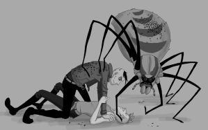 Stuff Him With Spiders by xliveGAARA7