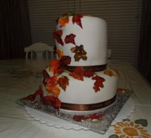 Fall Leaves Cake No 2 by reenaj
