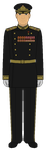 Soviet Admiral of the Fleet - Victory Day 1945 by JoeyLock